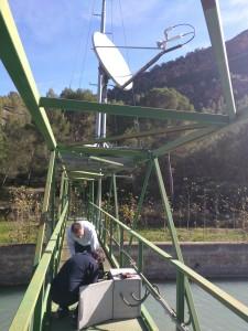 Mantenimiento y orientación de antena Vsat en Valencia