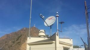 Mantenimiento y orientación de antena parabólica Vsat en Murcia