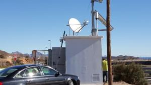 Instalación y orientación de antena parabólica Vsat en Águilas (Murcia)